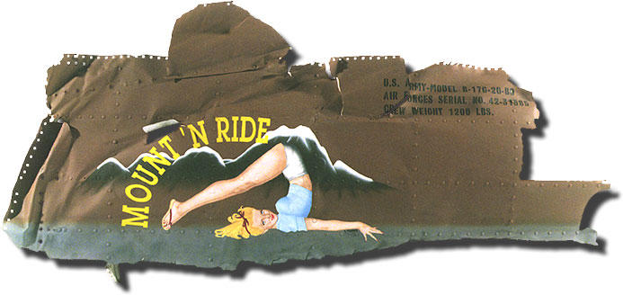 B17 Flying Fortress Pinup NoseArt